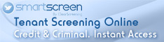 Tenant Screening Online. Credit & Criminal. Instant Access.