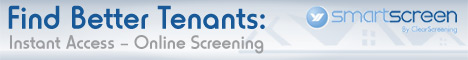 Find Better Tenants: Instant Access - Online Screening