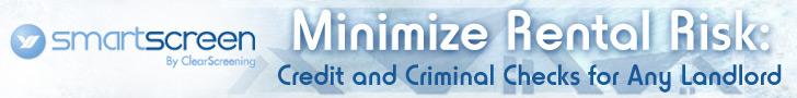Minimize Rental Risk. Credit and Criminal Checks for Any Landlord.