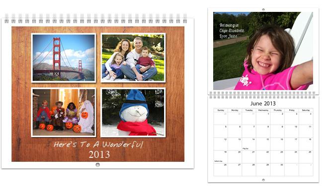 Picaboo photo calendar (affiliate link)