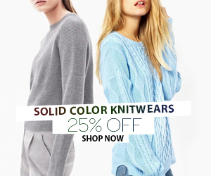 25% Off Trendy Sweaters and Cardigans From Chicnova