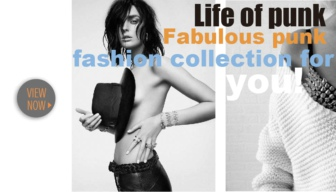 Fabulous punk fashion collection for you!