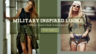 Military season is back. It never gets old.