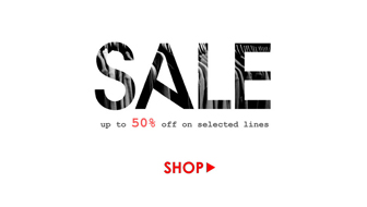 Up to 50% off on selected lines