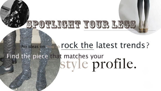 No ideas on how to rock he latest trends? Find the piece that matches your style profile.