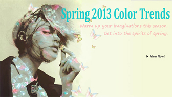 Warm up your imaginations this season. Get into the spirits of spring.