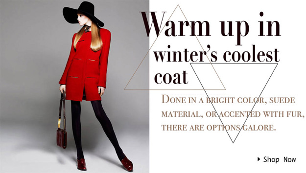Winter Coats - Now On Sale