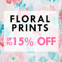 How to get your wardrobe to flourish this spring? Floral prints must be a good choice.