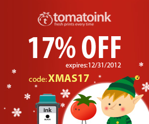Get 17% Off on Your Ink & Toner - Happy Holidays! (code: XMAS17)