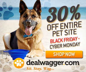 Pet Supplies Sale Black Friday through Cyber Monday