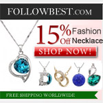 15% OFF On All Fashion Necklaces
