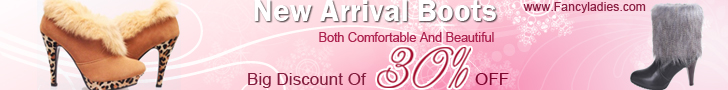 Big Discount Of 30% Off For Both Comfortable And Beautiful New Arrival Boots