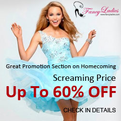 Big Sale, Up to 60% OFF Homecoming Dresses, Start from $43.24, Time Out soon, Shop Now.