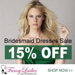 Promotion, 15% OFF on Bridesmaid Dresses Catalog