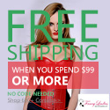 Free shipping any corset spend $99 or more ,no code needed.