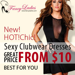 New! Hot! Chic! Great Price FROM $10 for Sexy Clubwear Dresses.