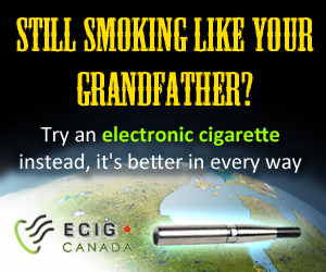 Still smoking like your grandfather? Try an electronic cigarette instead, it's better in every way.