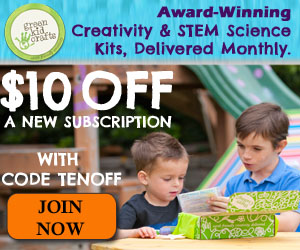 GREEN KID CRAFTS $10 OFF SALE:...
