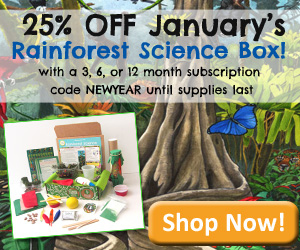 25% OFF YOUR JANUARY RAINFORES...