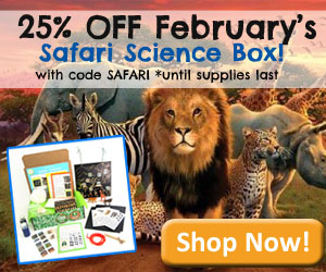 25% OFF YOUR FEBRUARY SAFARI S...