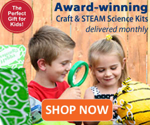green kid crafts non-toy gift idea craft and STEAM science kits