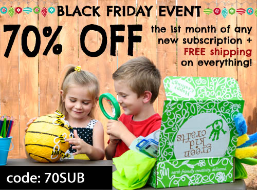 Five on Friday – 5 Green Black Friday Sales #FiveonFriday