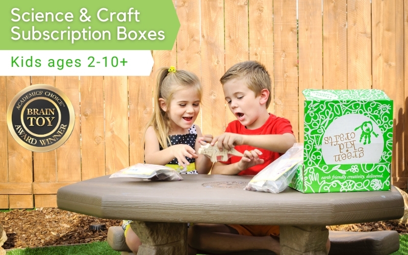 Tinker with children - Green Kid Crafts