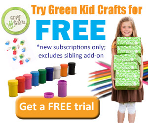FREE Green Kid Crafts Trial...