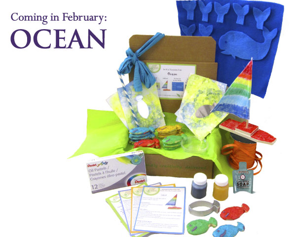 Get ready for February's Ocean Discovery Box!