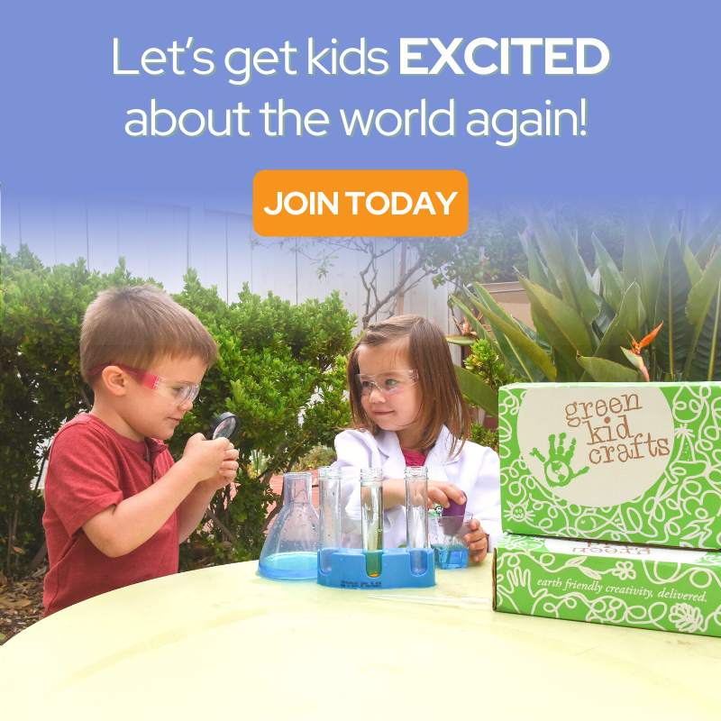 Green Kid Crafts Make it a Green Summer