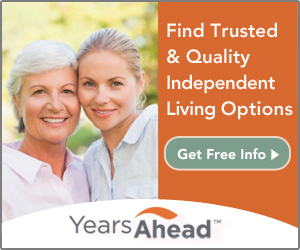 Find Senior Care Solutions in your area at YearsAhead.com