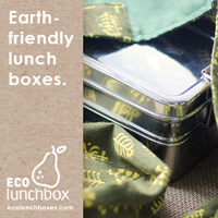 Earth friendly stainless steel bento boxes