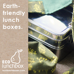 ECOlunchbox: Earth-friendly stainless steel bento boxes.