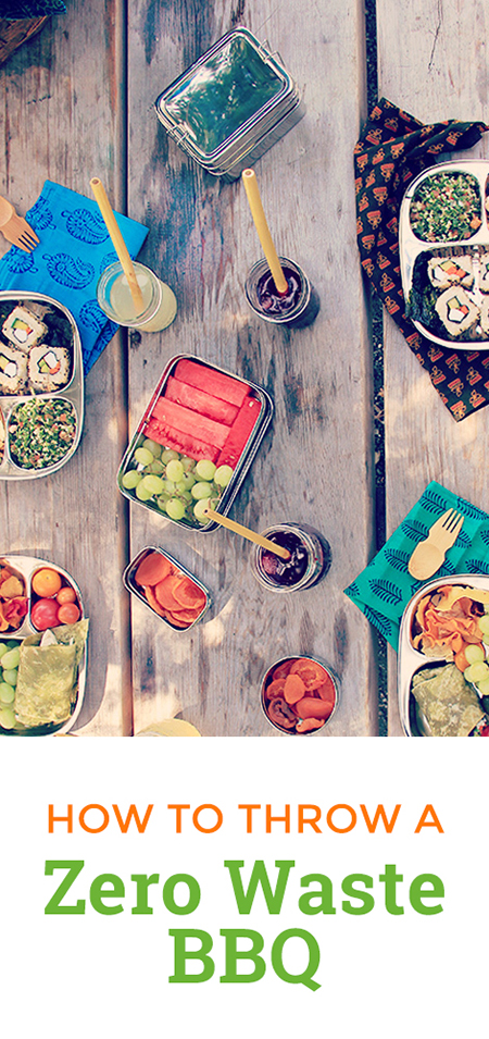 How to throw a zero waste party for summer barbecues