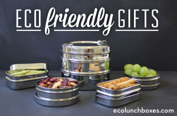 Give green gifts with ECOlunchbox