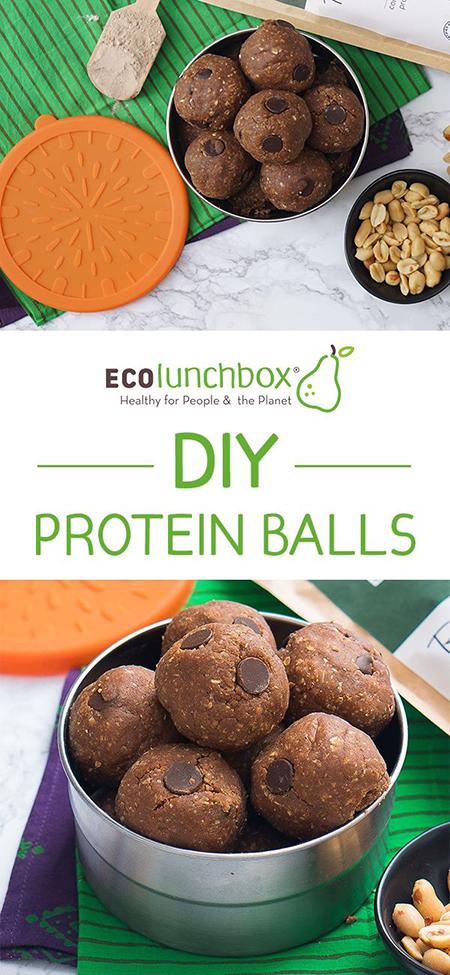 DIY Protein Balls Recipe
