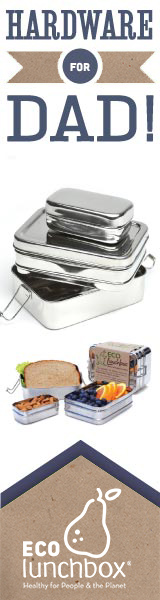 Hardware for Dad! Stainless Steel Lunch Box