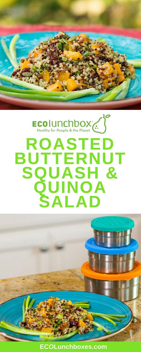 Roasted Butternut Squash & Quinoa Salad Recipe