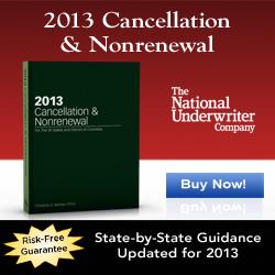 2013 Cancellation & Nonrenewal