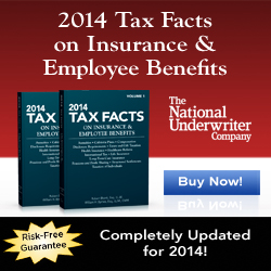 NEW 2014 Tax Facts on Insurance & Employee Benefits