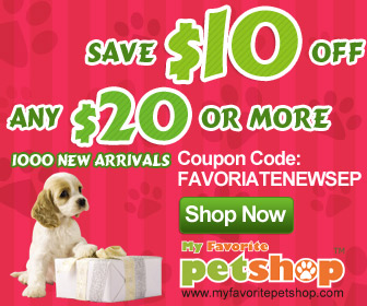 promo code for My Favorite Pet Shop
