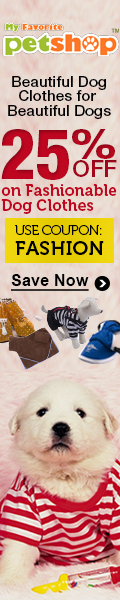 Beautiful Dog Clothes for Beautiful Dogs. 25% OFF on Fashionable Dog Clothes. USE COUPON 'FASHION'