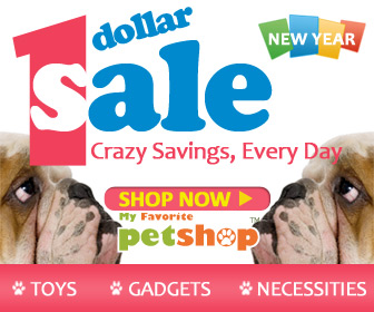 1 Dollar Sale! Crazy Savings, Every Day. New Pet Products every week - get them before they're gone! Ends Jan. 31. Shop now!
