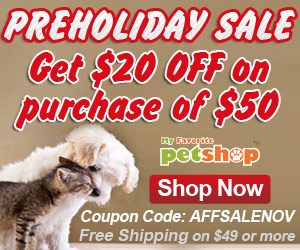 holiday sale for Pet Products