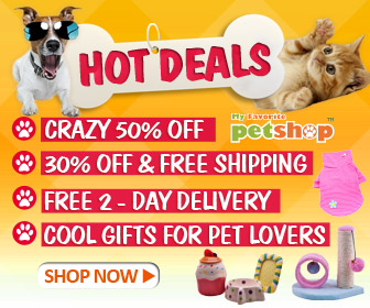 Hot Deals of Pet Products! Crazy 50% OFF, 30% OFF & Free Shipping, Free 2-Day Delivery and Cool Gifts for Pet Lovers. Ends Feb. 28. Shop now!
