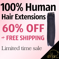 100% Human Hair Extensions 60% OFF +free shipping. Limited time sale. Hurry!