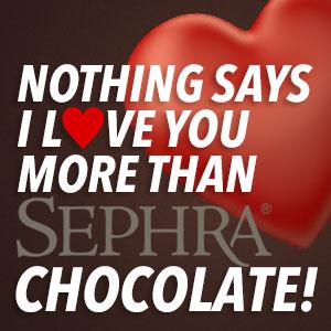 Sephra Chocolate Valentines Day Special