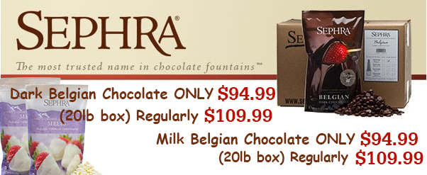 Despite every effort to prevent your chocolate from melting during the shipping process,