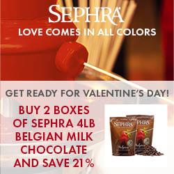 Sephra Valentine's Day Sale