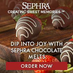 Sephra Chocolate Melts